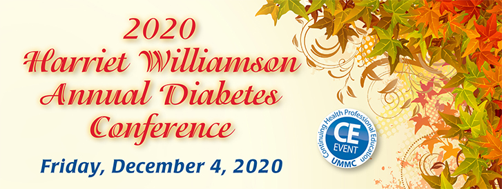 Final Banner 2020 Annual Harriet Williamson Diabetes Conference