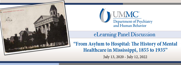 From Asylum to Hospital Banner