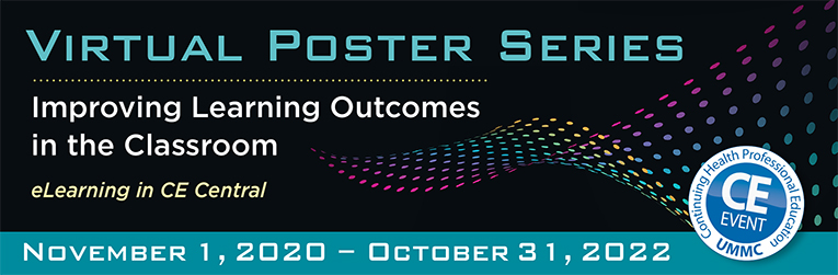 Virtual Poster Series -Improving Learning Outcomes in the Classroom (1)