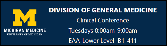 General Medicine Clinical Conference/Journal Club (2020)