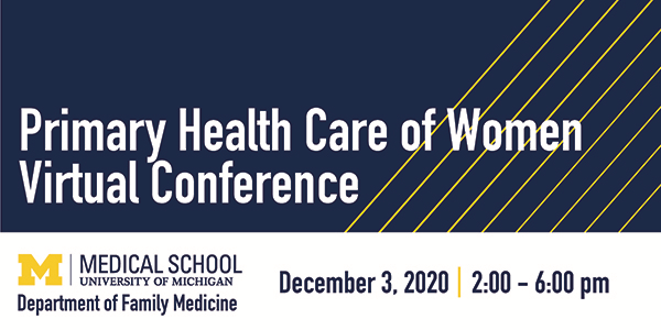 Primary Health Care of Women Virtual Conference 2020