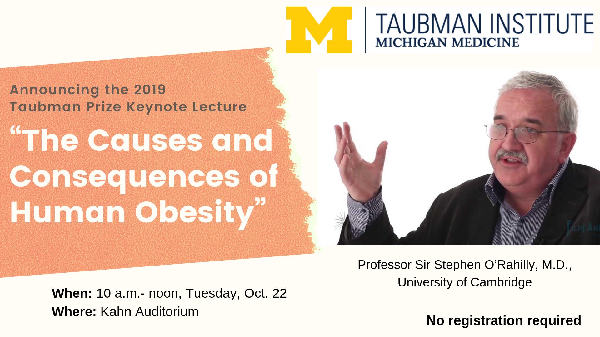 2019 Taubman Institute Symposium