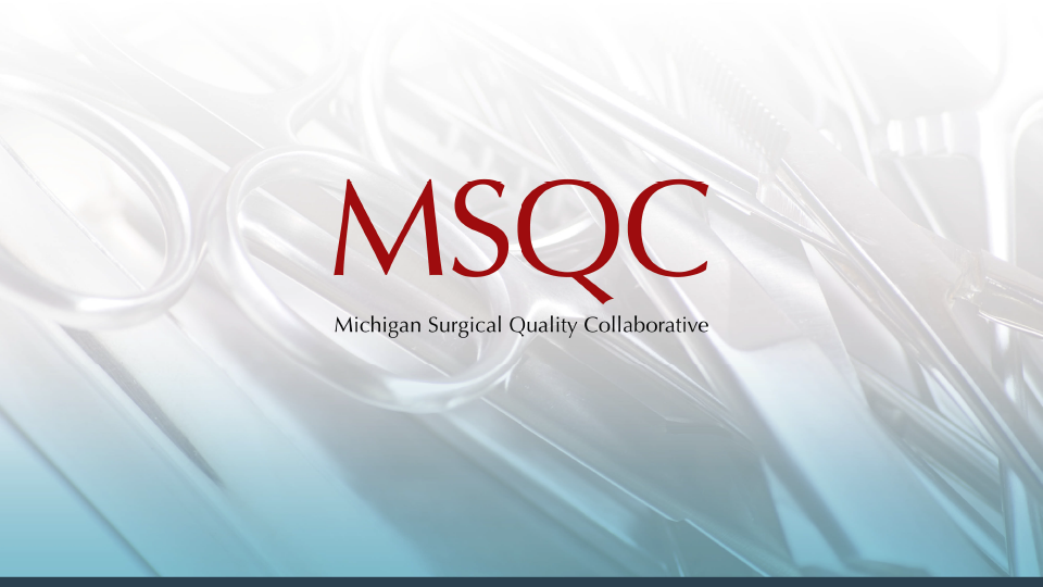 MSQC Hysterectomy Quality Improvement Workshop